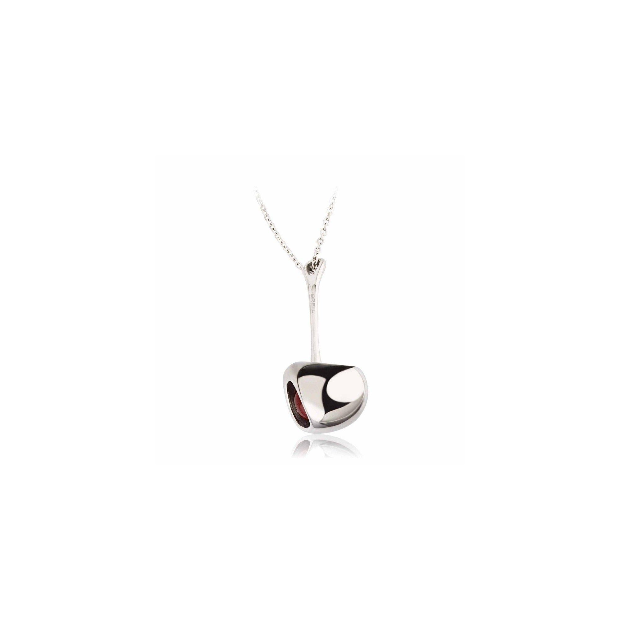Ожерелье Breil Red Silver
