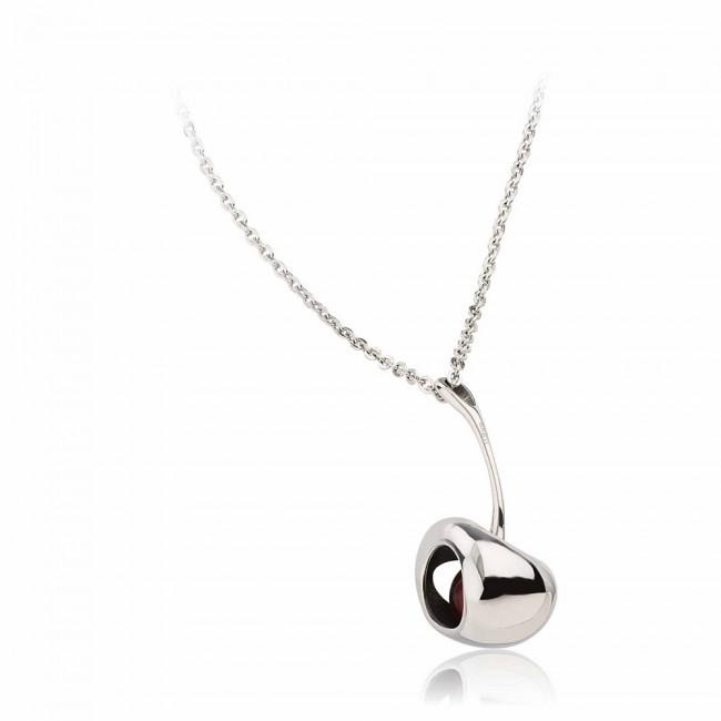 Ожерелье Breil Red Silver Small