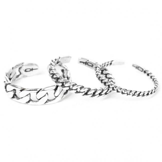 Тройное кольцо ORI TAO Rebelle