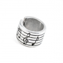 Кольцо Tra-la-ra Musica Ноты
