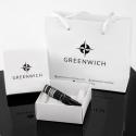 Мужской браслет Greenwich Меандр